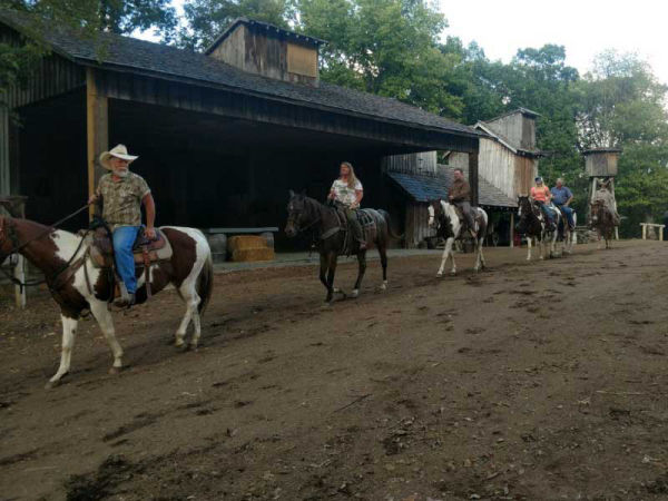 Ozark Mountain Trail Rides